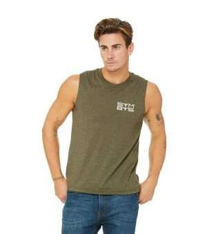 SYMBYS Mens/Unisex Muscle Tank Facebook Image